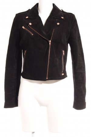 Freaky Nation Bikerjacke schwarz Street-Fashion-Look