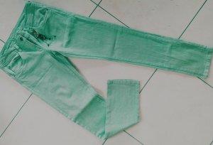 """%% """"freche"""" grüne Jeans mit gratis Schlüsselanhänger,Gr.36"""