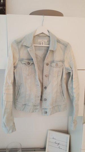 H&M Veste en jean bleu pâle-bleu clair