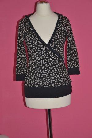 Tally Weijl Jersey con capucha negro-blanco Algodón