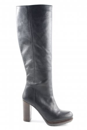 Fred de la bretoniere Absatz Stiefel schwarz klassischer Stil