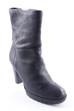 Fred de la bretoniere Reißverschluss-Stiefeletten schwarz Street-Fashion-Look