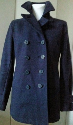 Fred Perry Kurzmantel Peacoat Caban Wolle navy