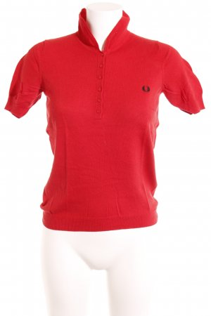 Fred Perry Polo-Shirt hellrot-rot sportlicher Stil