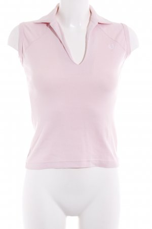 Fred Perry Polo Top rosa Casual-Look