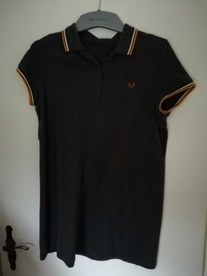 Fred Perry Vestido tipo polo gris