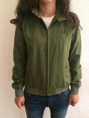 Fred Perry Reissues Harrington Bomberjacke, Made in England, Gr. S
