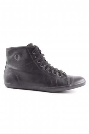 Fred Perry Schnürsneaker schwarz Casual-Look