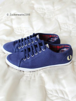 Fred Perry Zapatos brogue azul oscuro