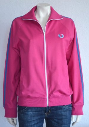 FRED PERRY SWEATJACKE GR. S PINK LOGO