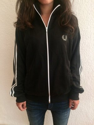 Fred Perry Giacca fitness nero-bianco