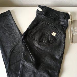 Freddy Jeans WR.UP Neu Gr. L schwarz Python