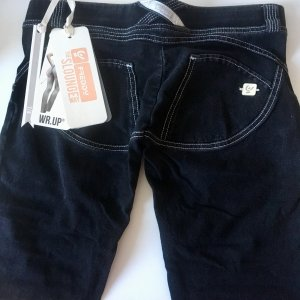 Freddy Jeans WR.UP Neu Gr. S schwarz Denim 7/8