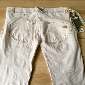 Freddy Jeans WR.UP Neu Gr. XS Weiß Denim Ripped