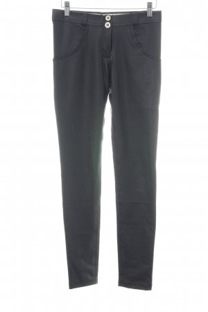 Freddy Leather Trousers black casual look