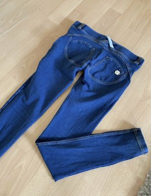 Freddy Jeans cigarette bleu foncé