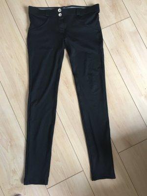 Freddy Lage taille broek zwart Polyester
