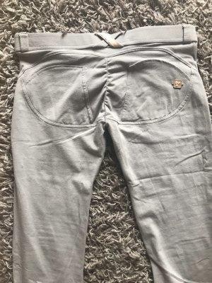 Freddy Pantalone a vita bassa grigio chiaro
