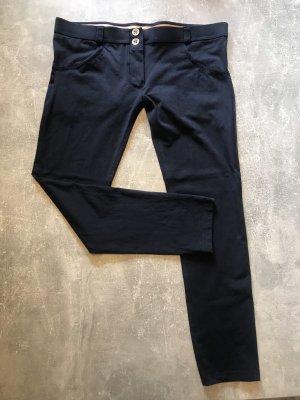 Freddy Sweat Pants dark blue-light pink