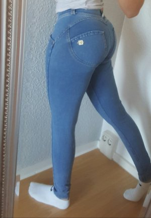 Freddy wr up Jeans Leggings Low Waist grau denim