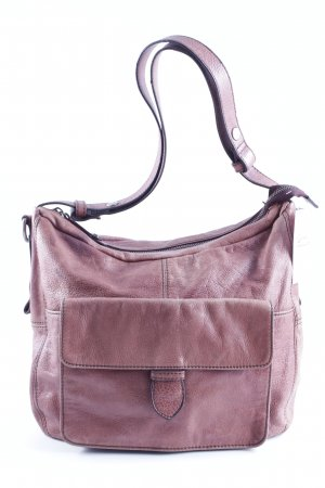 Fredsbruder Pouch Bag brown-pink casual look