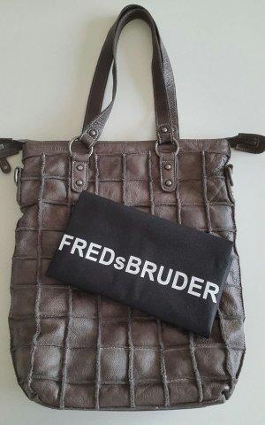 Fredsbruder Shopper dark grey