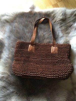 Fredsbruder Shopper/Handtasche in Cognac braun - #fredsbruder #wieneu #shopper