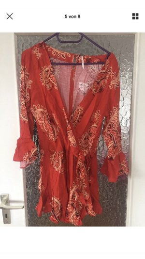 Free People All The Right Ruffles Romper Jumpsuit S DE 36 NEU