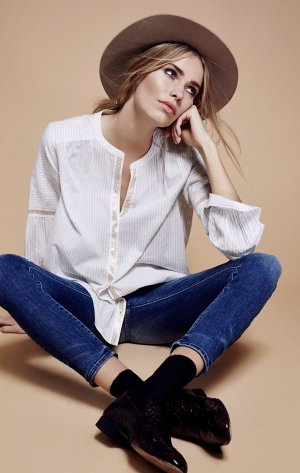 FREE PEOPLE! Blouse!