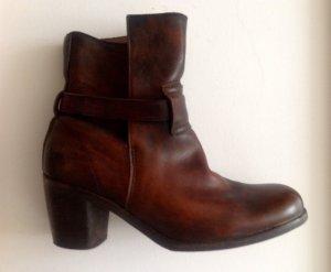 Free People Boots Leder braun 37