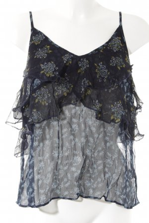 Free People Cropped Top florales Muster Beach-Look