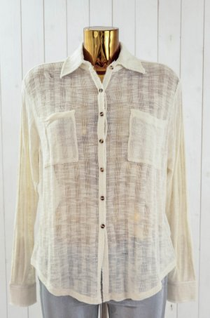 FREE PEOPLE Damen Hemd Bluse Strick Oversized Baumwolle Gr.XS-S Neu!