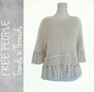 Free people fringe pullover