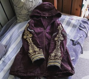 ♡ Free People Golden Quills Parka Jacke ♡