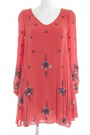 Free People Hippiekleid abstraktes Muster Boho-Look