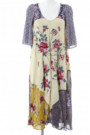 Free People Abito hippie motivo floreale stile Gypsy