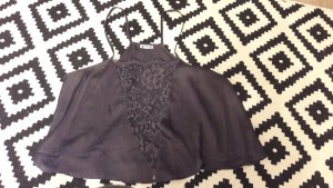 Free People Intimates Camisole Lingerie Top Crop Babydoll Croptop Spitze Lace S