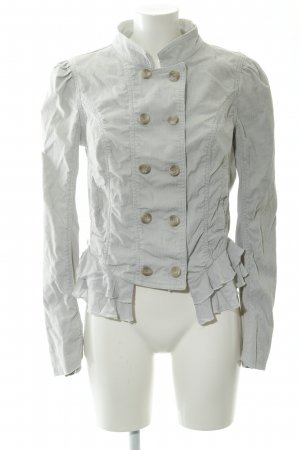 Free People Jerseyblazer hellgrau Casual-Look