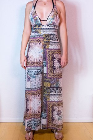 Free People Jumpsui Overal Summer Bunt Muster US 4 36/38 M