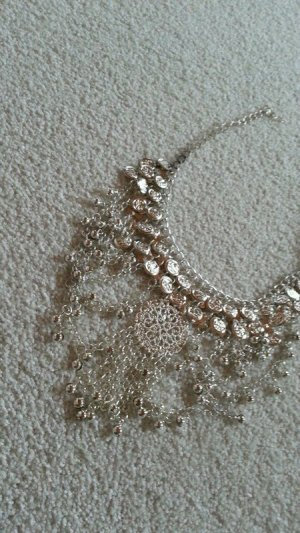 Free People Necklace silver-colored