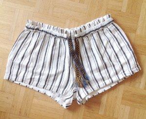 Free People Kurze Hose Shorts Hotpants Baumwolle Ethno Yoga Hippie Boho Stree Blogger Style M L