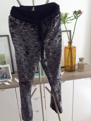 Free People Lady sequin Joggers gunmetal gekauft in uk bloomingdales