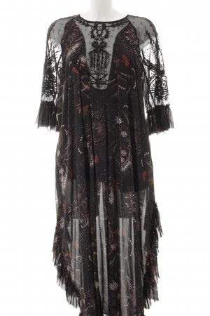 Free People Maxikleid florales Muster Romantik-Look