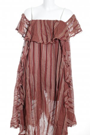 Free People Maxikleid Streifenmuster Beach-Look