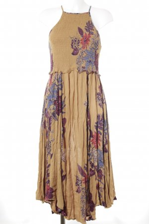 Free People Midi-jurk bloemenprint Beach-look