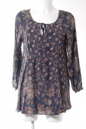 Free People Minikleid florales Muster Casual-Look