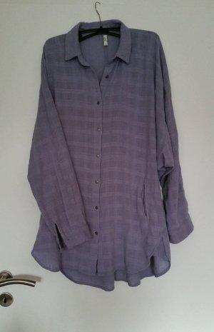 Free People Oversize Hemd Bluse Kleid - Indian Summer Blogger