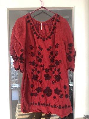 Free People Paradise Mini Dress Kleid Rot S 36