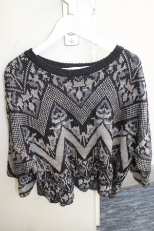 Free People Pullover Pulli Strick Muster