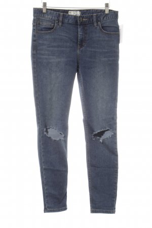 Free People Tube jeans donkerblauw Jeans-look